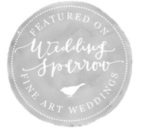 featured wedding sparrow