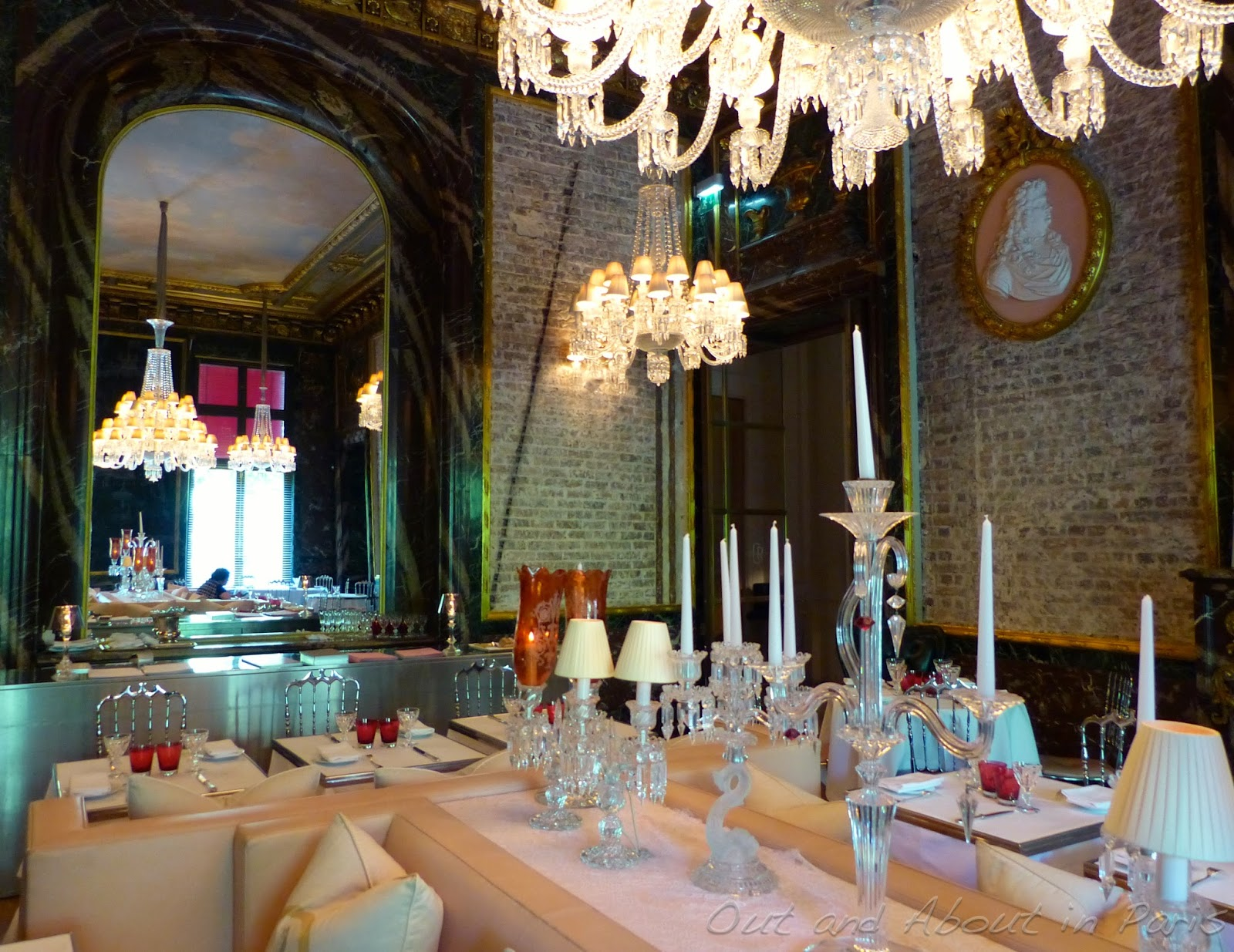 Yanique s picks cristal room baccarat elope in paris