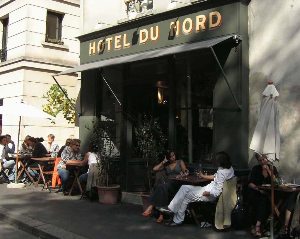 Yanique s picks hotel du nord elopements and small for Bar exterieur paris
