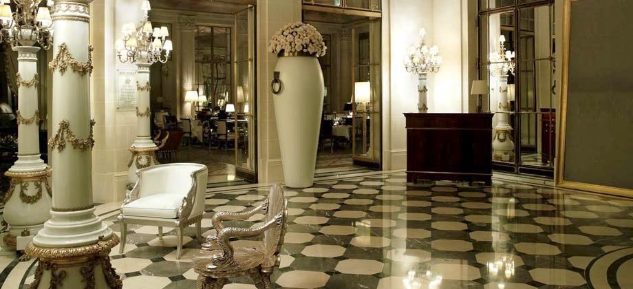 Paris bathroom decor - Picks Le Meurice 187 Elopements And Small Weddings In Paris