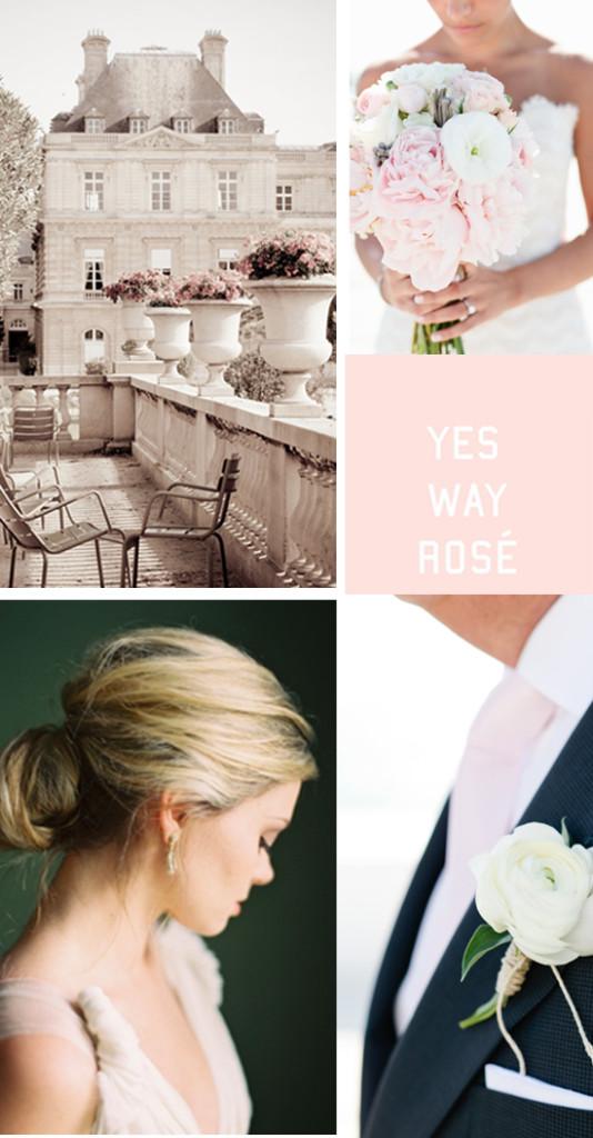 Paris Blush Wedding Inspiration 1