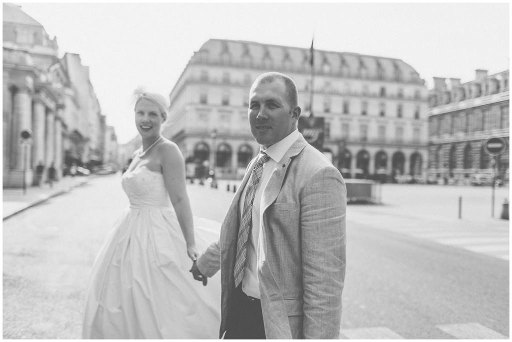 simple parisian elopement