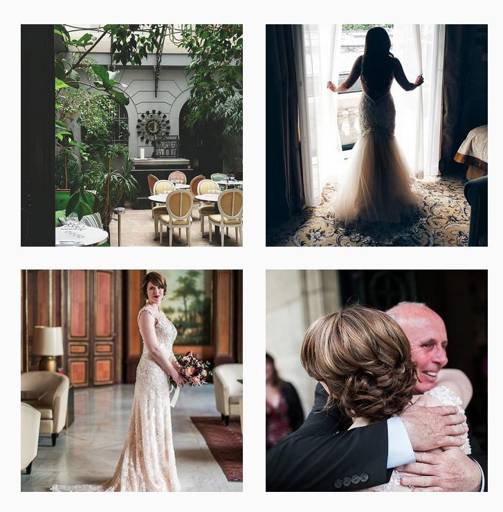 elope in paris proposal photos