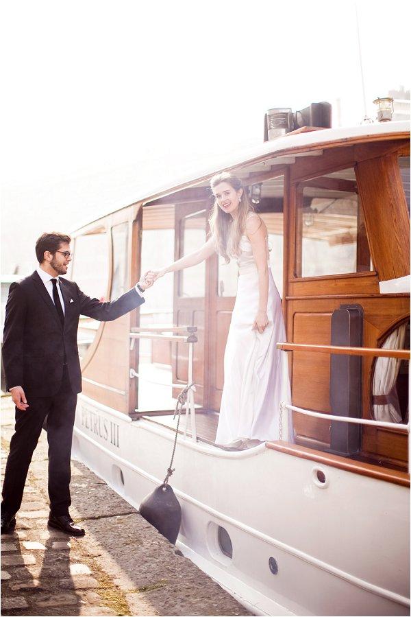 Elope in Paris boat seine river