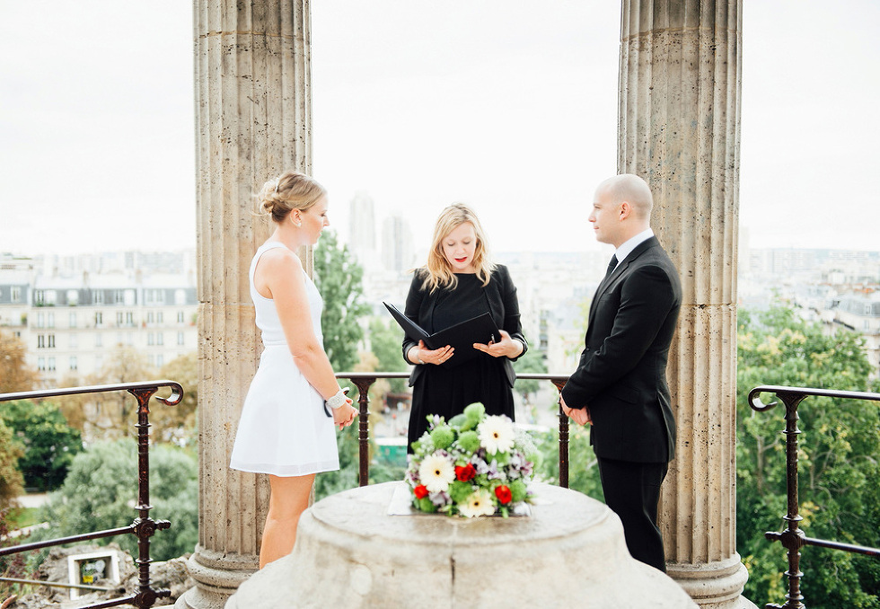 Park wedding paris elope in paris