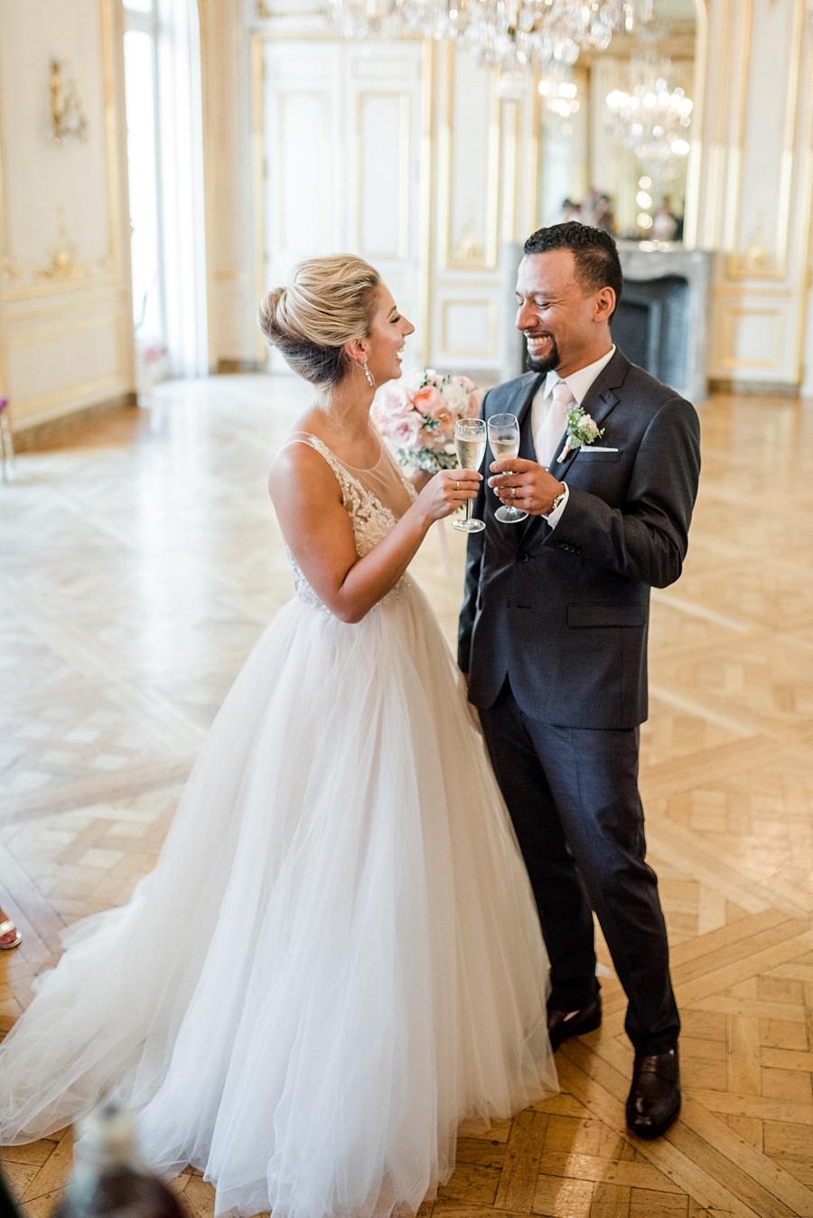 kristine and gawah elope in paris
